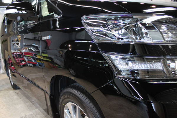 トヨタ ヴェルファイア ブラック 202 黒