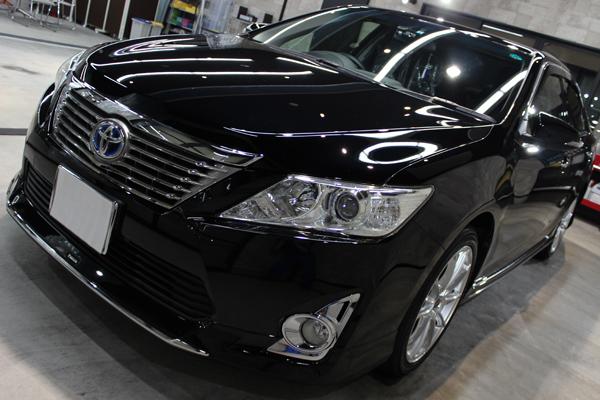 トヨタ カムリ ブラック 黒 202
