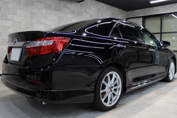 トヨタ カムリ ブラック 202 黒 ホイール