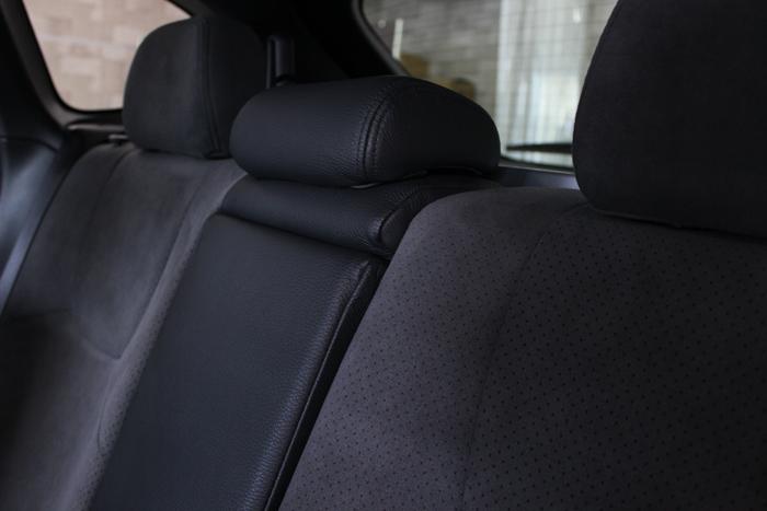 スバル WRX STI シートコーティング リアシート全体