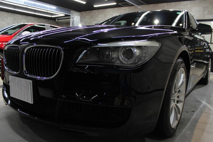 BMW 740i Mスポーツ ブラックサファイア フロントバンパー