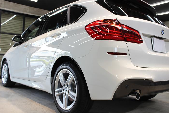 BMW 218d アクティブツアラー アルピンホワイト Mスポーツ バックドア