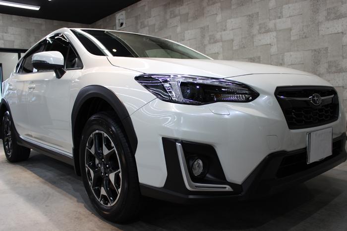 スバル インプレッサ XV クリスタルホワイトパール 新車