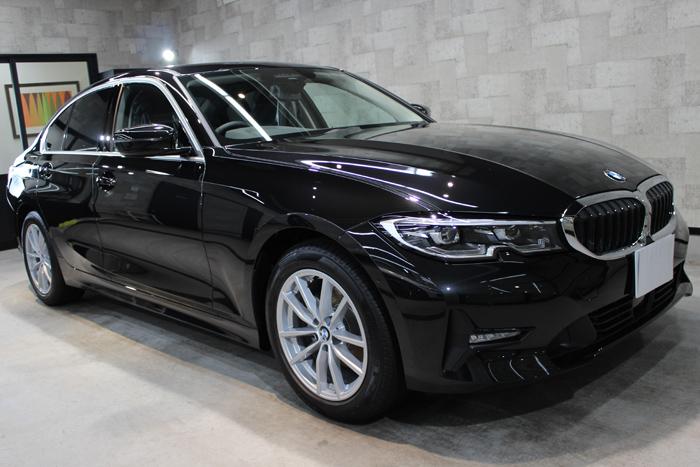BMW 3シリーズ ブラックサファイア ホイール右