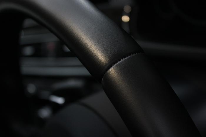 BMW 640iグランクーペ ステアリングコーティング アップ