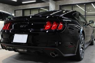 フォード マスタング ブラック リアバンパー