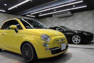 店舗内画像 フィアット 500 BMW 640i グランクーペ Mスポーツ ブラックサファイア