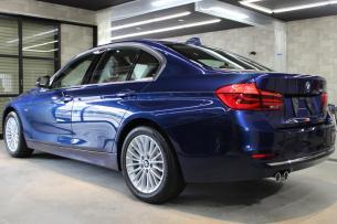 BMW 320d ラグジュアリー メディテラニアンブルー ホイール