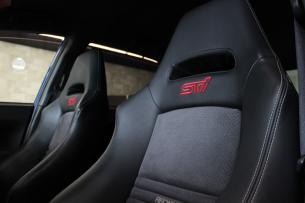 スバル WRX STI シートコーティング 助手席アップ