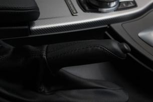 BMW 320d シートコーティング  パーキングブレーキ グリップ