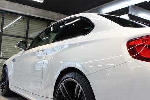 BMW M2 アルピンホワイト 左クォーター