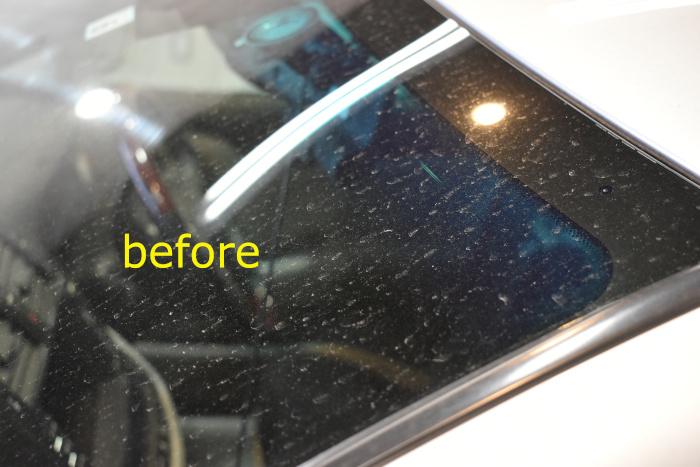 クラウン洗車前窓-4