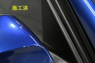 BMW 318i ミラー施工済-2
