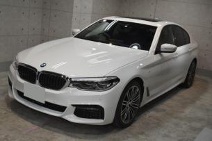 BMW530i フロント