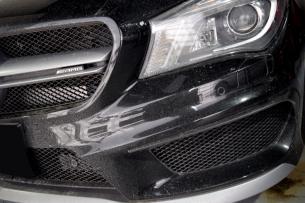 CLA45洗車001