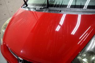 屋内洗車フィット01