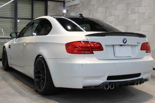 BMW M3 アルピンホワイト リアバンパー