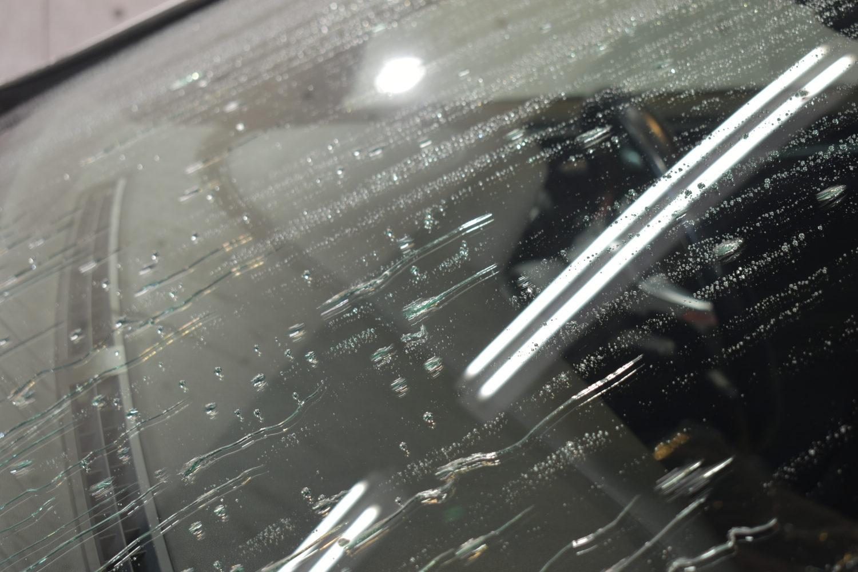 ゴルフGTI-窓撥水