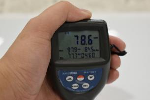 レクサスUX-膜圧計